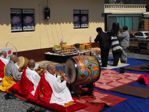 Gu In Jung Sa Temple Spring Ritual